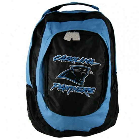 Carolina Panthers Embroidered Team Logo Backpack