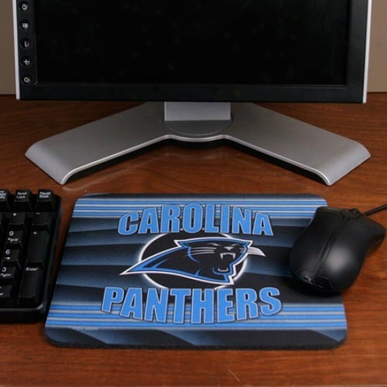 Carolina Panthers End Zone Mousepad