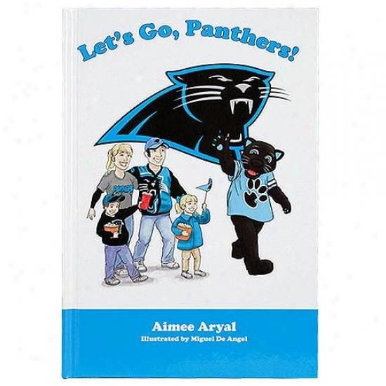 Carolina Panthers Let's Go Panthers! Children's Book