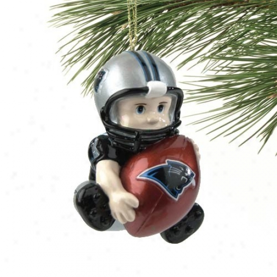 Carolina Panthers Lil' Fan Football Player Acrylic Decorate