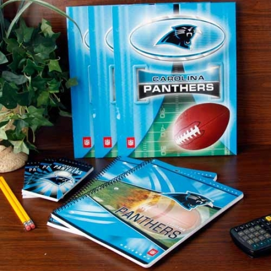 Carolina Panthers School Combo Pack