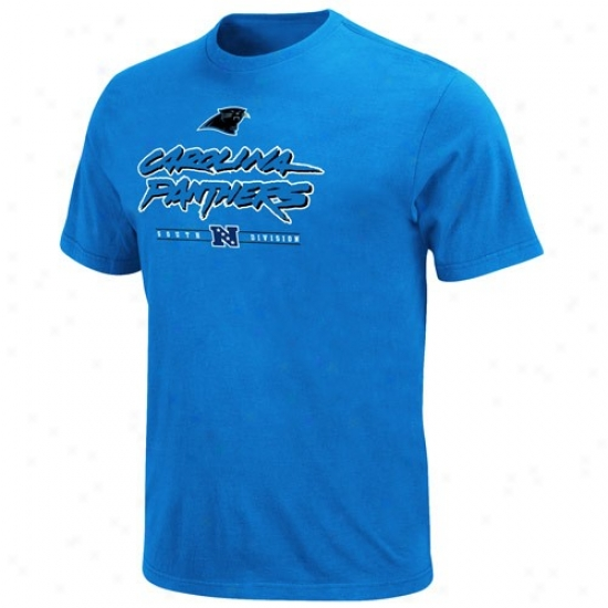 Carolina Panthers Shirt : Carolina Pantbers Panther Blue Critical Victory Shirt