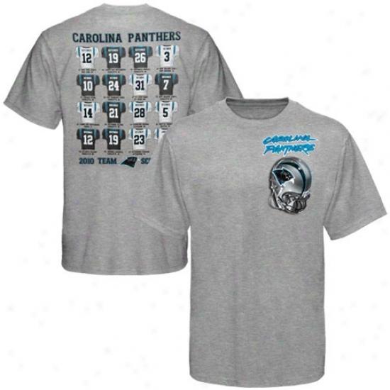 Carolina Panthers Shirt : Reebok Carolina Panthers Aah 2010 Jersey Scroll Shirt