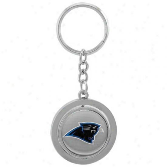 Carolina Panthers Spinner Keychain