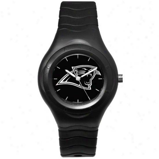 Carolina Panthers Watches : Carolina Panthers Black Shadow Team Logo Spor Watches