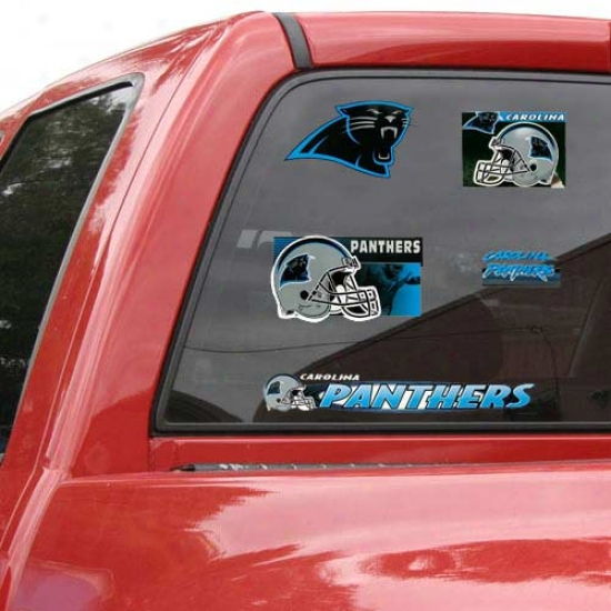 Carolina Panthers Window Clings Sheet