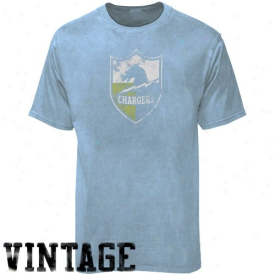 Chargers Shorts : Chargers Light Blue Retro Logo Vintage Shirts