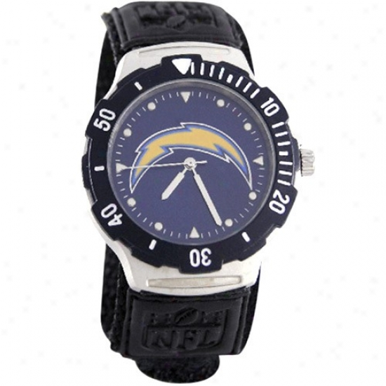 Chargers Watch : Chargers Black Agent V Watch