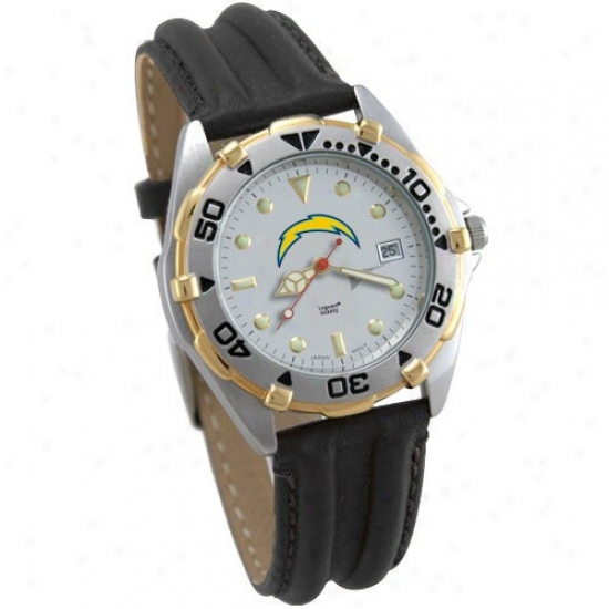 Charges Watch : Chargers Ladies All-star Watch With Leather Band
