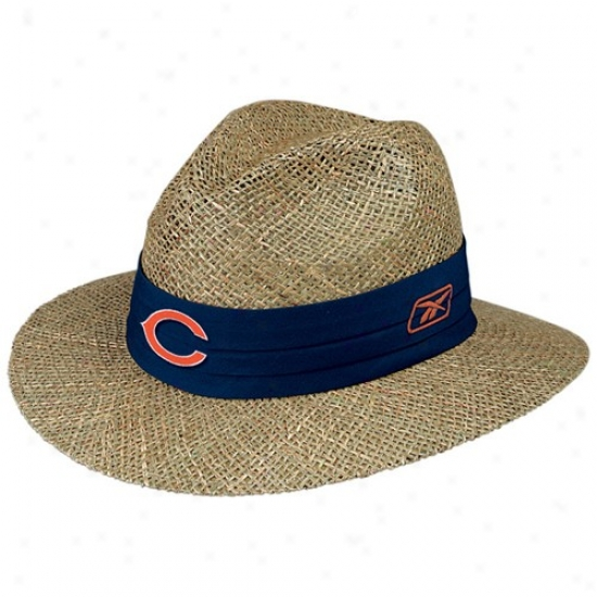 Chicago Baer Caps : Reebok Chicago Bear En~ Straw Caps
