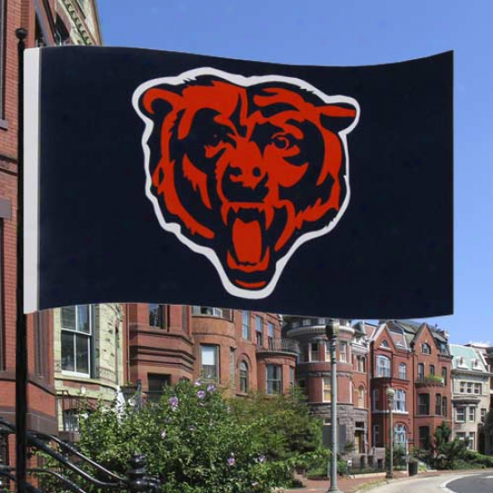 Chicago Tend Flag : Chicago Bear Premium 3' X 5' Flag