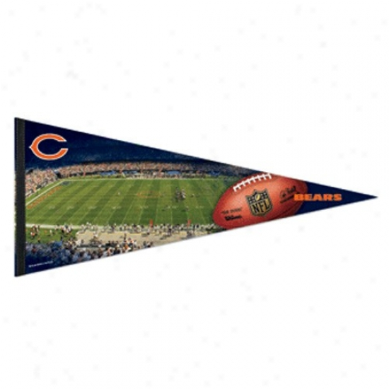 Chicago Bears 17'' X 40'' Stadium Felt Pennant