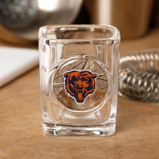 Chicago Bars 2 Oz. Realtree Camo Shot Glass