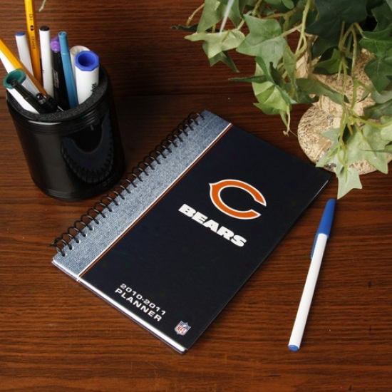 Chicago Bears 2010-11 5'' X 8'' Planner