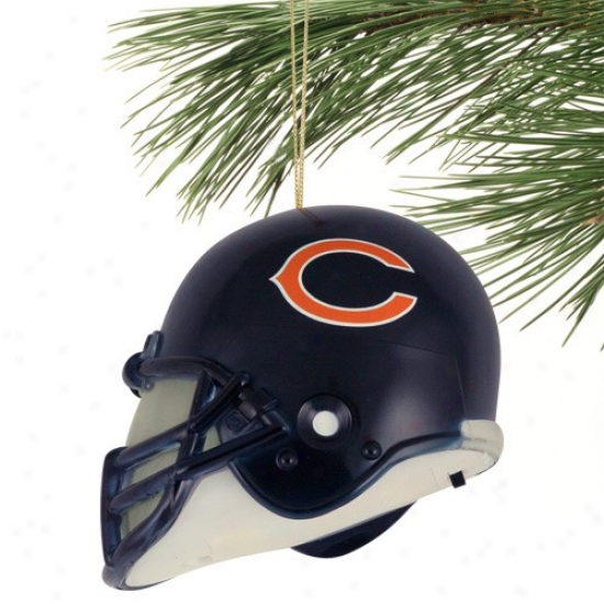 Chicago Bears 3'' Acrylic Light-up Football Helmet Ornament