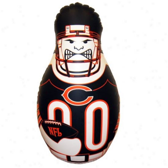 Chicago Bears 40'' Inflatable Tackle Buddy Punching Bag