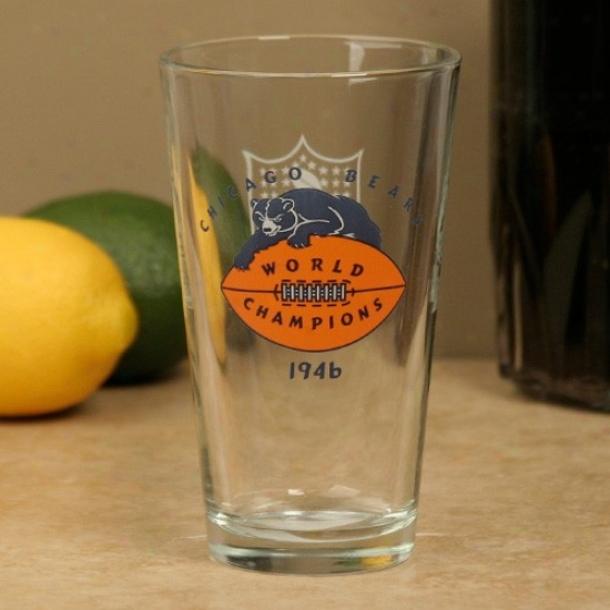 Chicago Bears 50th Anniversary 16oz. Pint Glass
