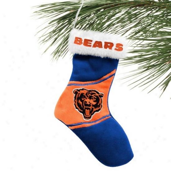 Chicago Bears 7-inch Plush Stocking Ornament