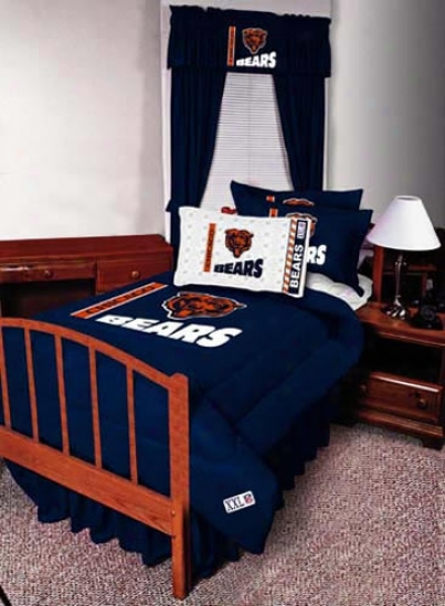 Chicago Bears 82x84 Long Drapes