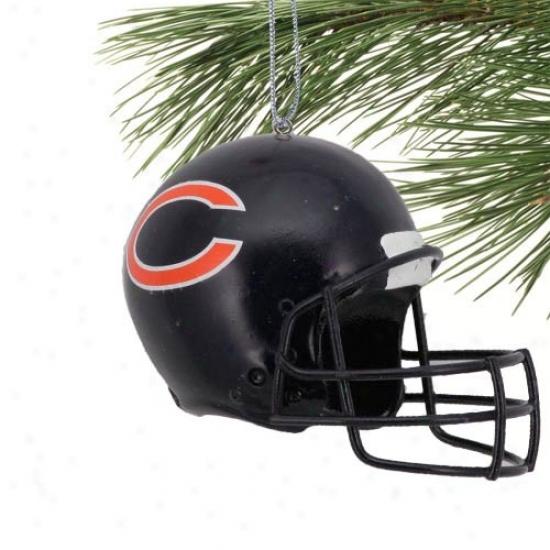 Chicago Bears Football Helmet Ornament