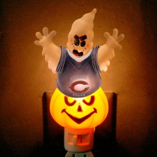 Chicago Bears Halloween Ghost Night Daybreak