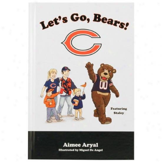 Chicago Bears Let's Go Bears! Children's Hardcover Book