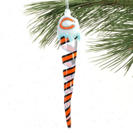 Chicago Bears Light-up Icicle Ornament