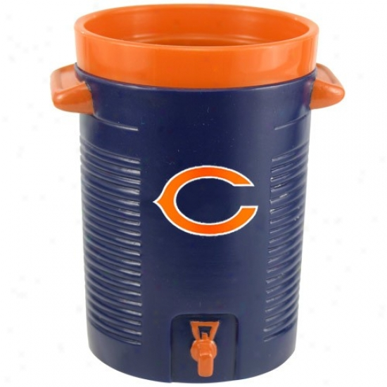 Chicago Bears Navy Blue Water Cooler Drinking Cup