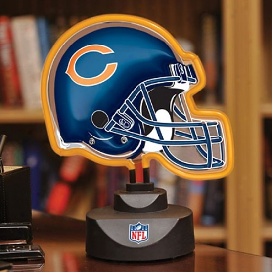 Chicago Bears Neon Helmet Light