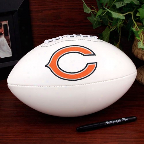 Chicago Bears Official Full Size Autograph Football