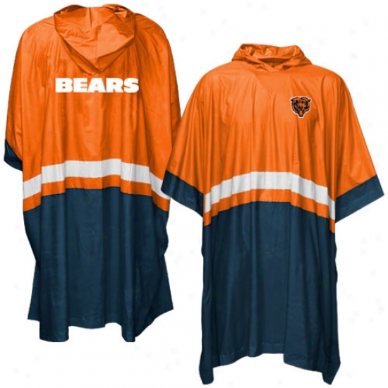 Chicago Bears Official Team Poncho