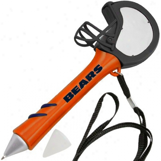 Chicago Bears Orange Light-up Mirror Pen