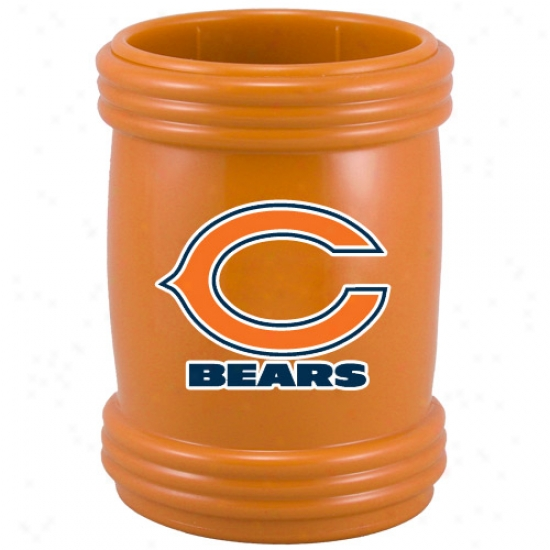 Chicago Bears Orange Sports Magna-coolie Bevearge Holder