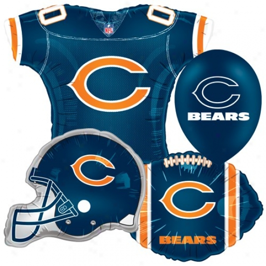 Chicago Bears Party Balloon Srt