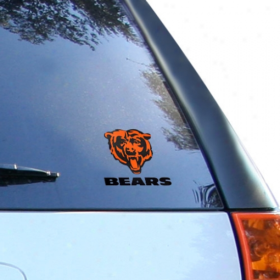 Chicago Bears Small Window Cling