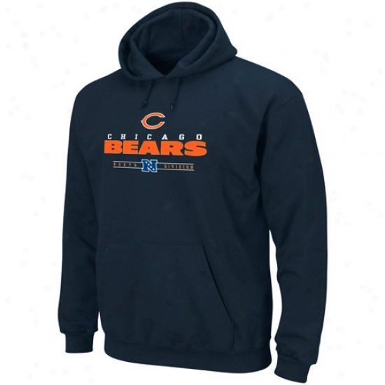 Chicago Bears Sweat Shirt : Chicago Bears Navy Blue Critical Victory Iv Sweat Shirt