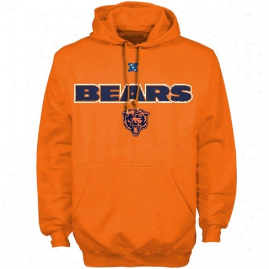 Chicago Bears Sweat Shirt : Chicago Bears Orajge Critical Victory Iii Sweat Shirt