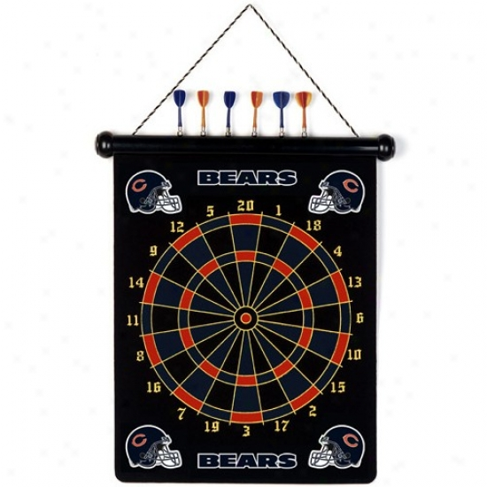 Chicago Bears Team Magnetic Darts Set