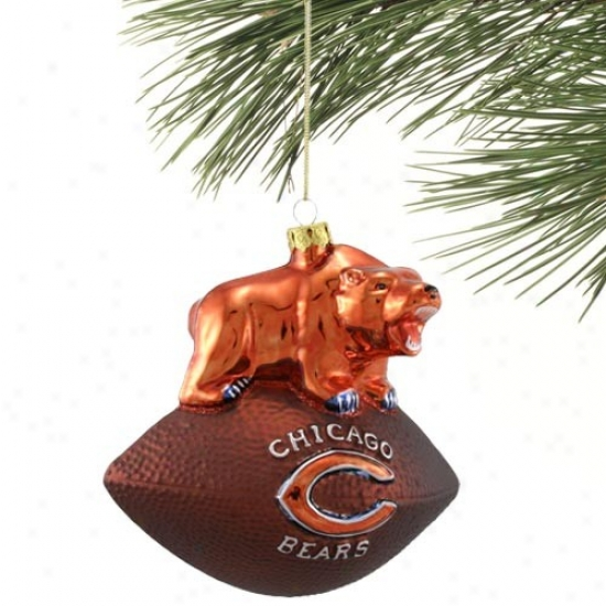 Chicago Bears Team Spirit Ornament