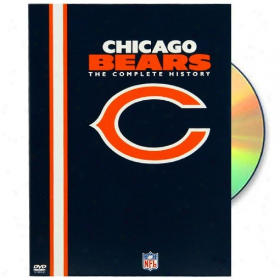 Chicago Bears The Complete Account 2-disc Dvd Set