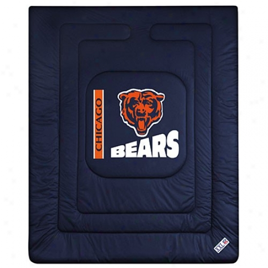 Chicago Bears Twin Size Locker Room Comforter