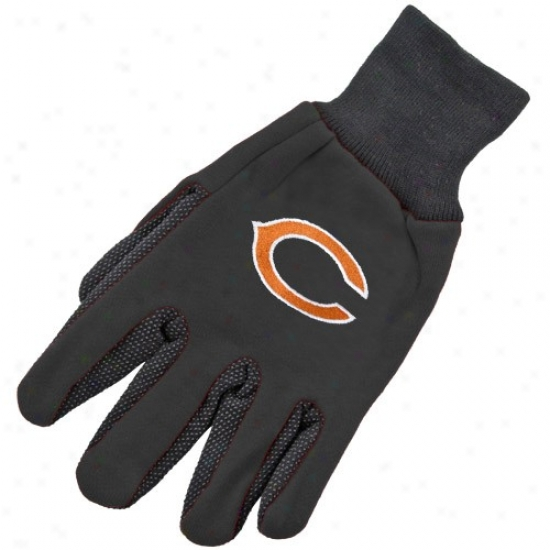 Chicago Bears Two-tone Utility Gloves