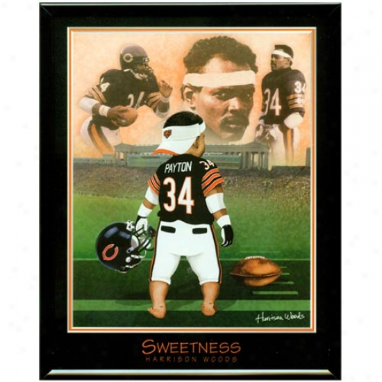 """""""hcicago Bears Walter Payton """"""""sweetness"""""""" Picture"""""""