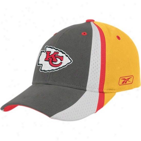 Chiefs Gear: Reebok Chiefs Colorblock Players 2nd Season Adjusyable Hat