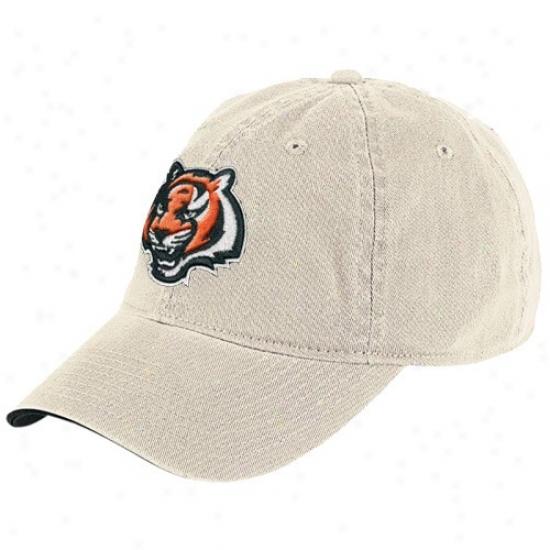 Cincinnati Bengal Merchandise: Reebok Cinvinnati Bengal Stone Basic Logo Slouch Hat