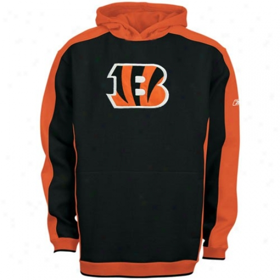 Cincinnati Bengal Sweatshirts : Reebok Cincinnati Bengal Black Youth Dream Pullover Sweatshirts