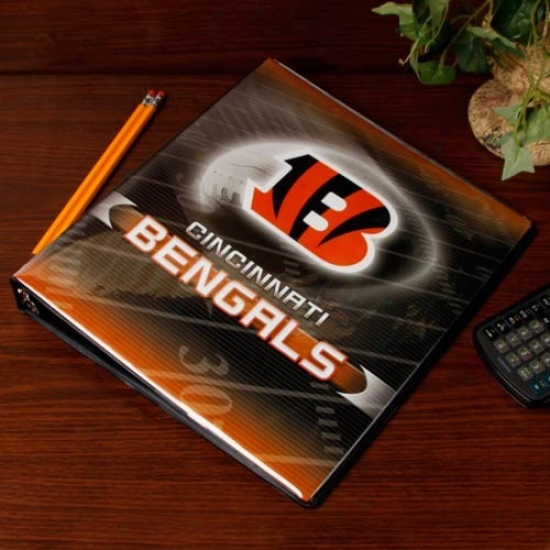Cincinnati Bengals 1'' 3-ring Team Logo Binder