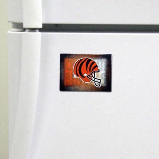 Cincinnati Bengals 2'' X 3'' Nfl Team Logo Magnet