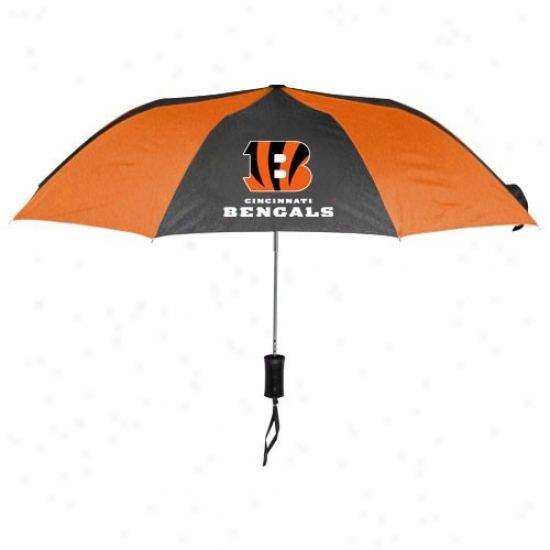 Cincinnati Bengals 68'' Folding Umbrella