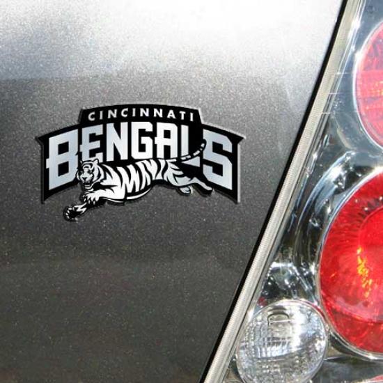 Cincinnati Bengals Auto Emblem